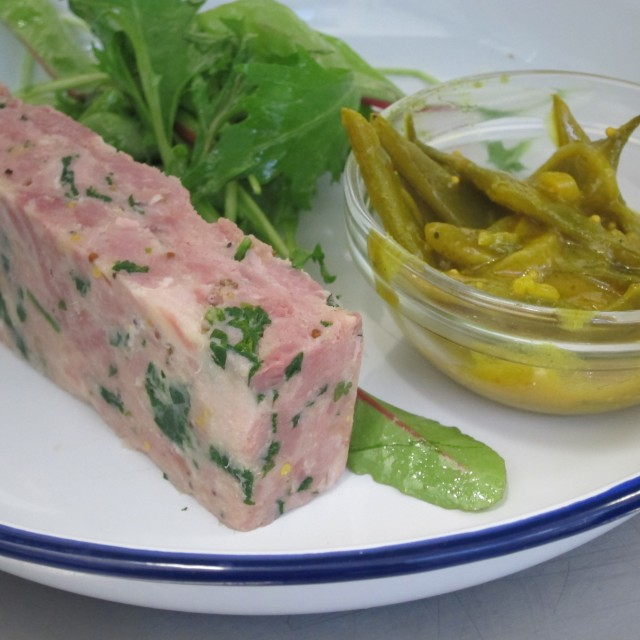 Hamhock & parsley terrine