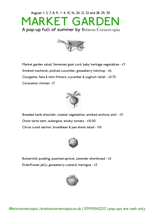 Market Garden Menu Aug